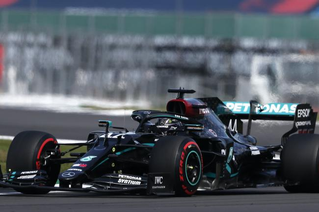 Mercedes driver Lewis Hamilton topped the timesheets after third practice