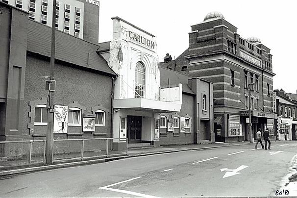 The Carlton was next to the Palace Theatre