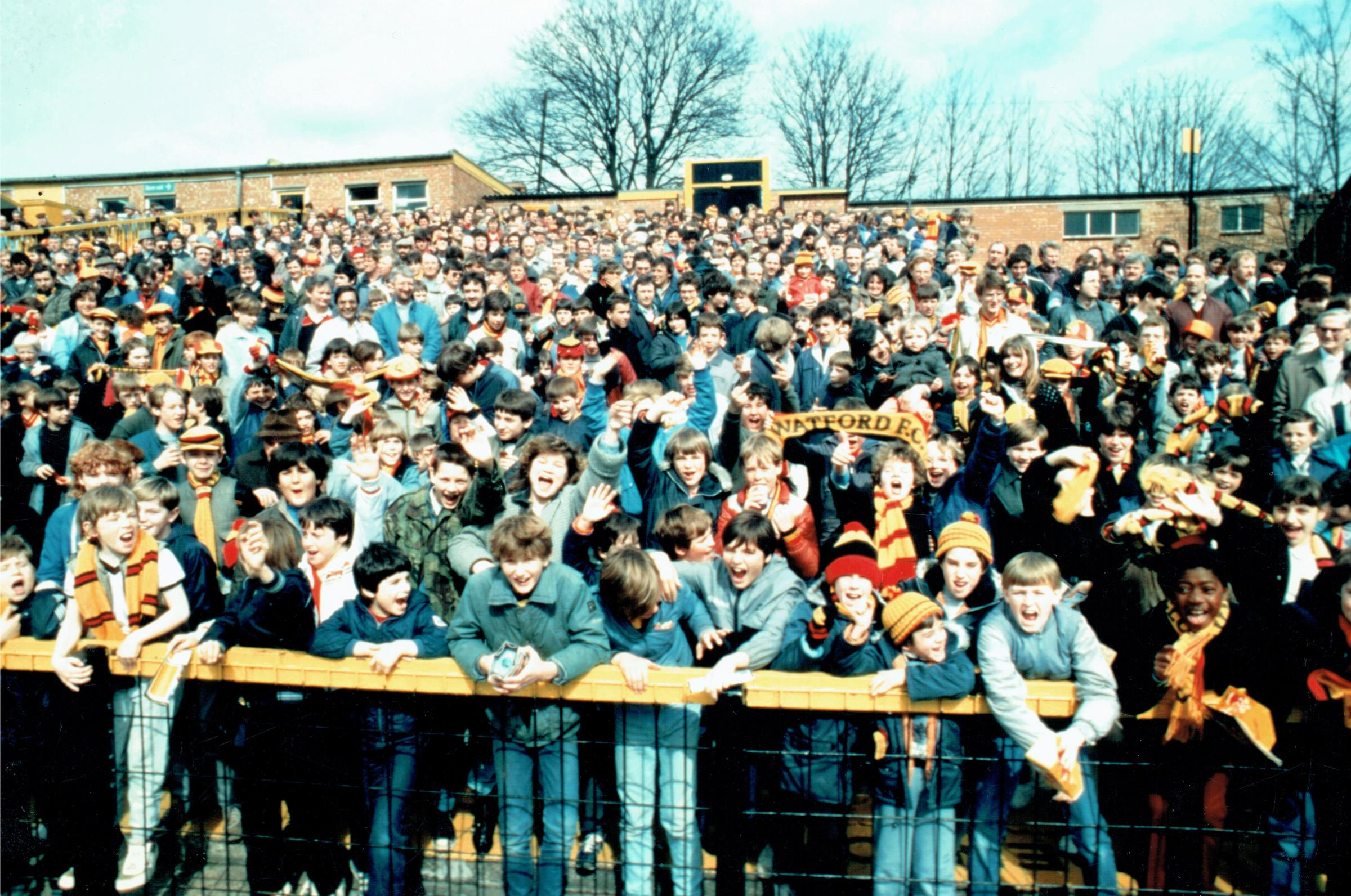 Pictures: Memories of Watford's golden era in the 1980s