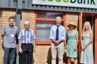 The High Sheriff of Hertfordshire visits Watford Foodbank. Photos: Len Kerswill
