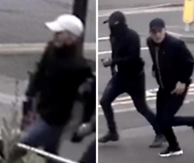 Police would like to identify and speak to these men (Photo: Hertfordshire Constabulary)