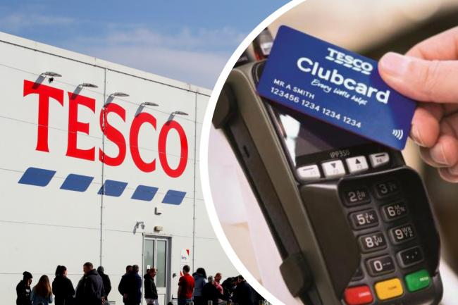 Tesco reveal how shoppers can donate Clubcard points to help food charities. Pictures: Tesco/PA/Newsquest
