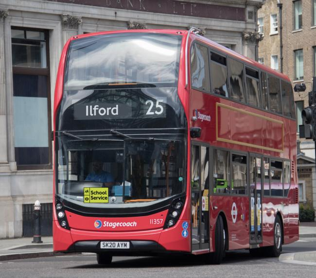 TfL put on extra dedicated buses for pupils when schools went back last month to help social distancing (Photo: TfL).