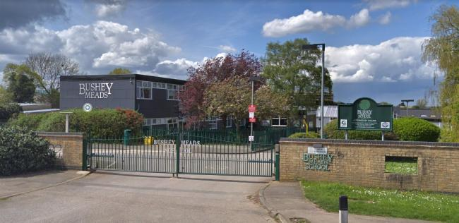 A student has tested positive for Covid-19 at Bushey Meads School Photo: Street View