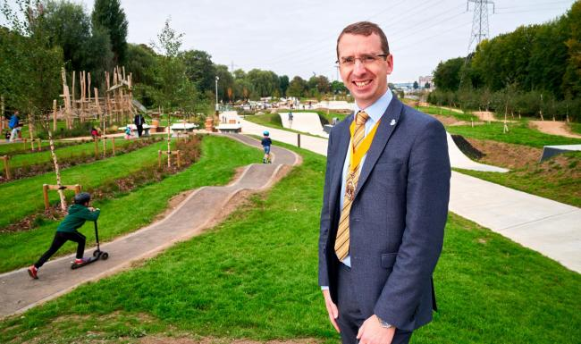 Oxhey Activity Park has now opened (Photo: Simon Jacobs)