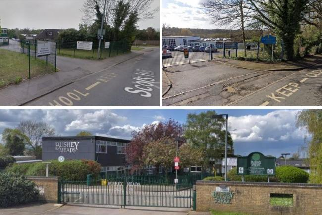 Five schools near Watford have been affected by coronavirus
