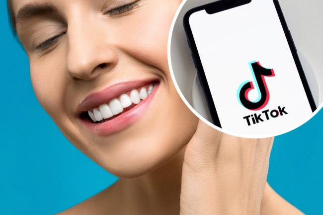 TikTok teeth whitening: Dentists warn trend could cause permanent damage. Picture: Newsquest