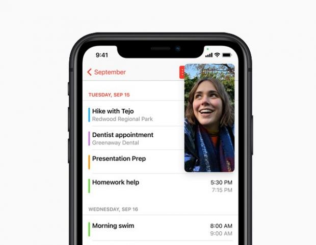 Watford Observer: With Picture-in-Picture, users can watch a video or take a FaceTime call while using another app. Picture: Apple