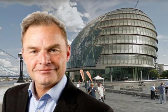 Peter Whittle said Labour 'doesn't really like Britain very much' (Photo:  Google Maps / GLA).