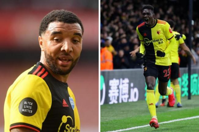 Deeney (left) and Sarr (right)