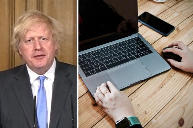 'Work from home if you can' - Boris Johnson makes u-turn on workplace guidance. Picture: Newsquest
