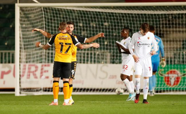 Watford were beaten by Newport in the Carabao Cup. Picture: Action Images
