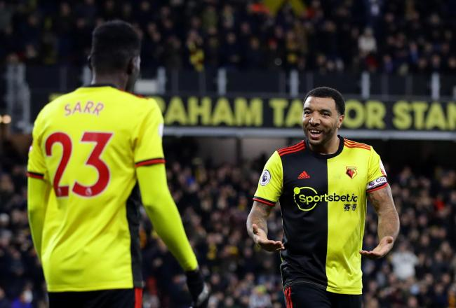 Watford expect Troy Deeney and Ismaila Sarr back soon. Picture: Action Images