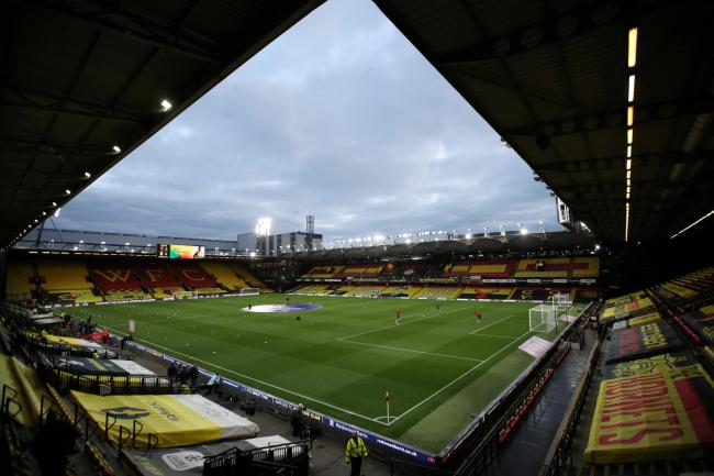 Watford have urged fans to stay at home this weekend. Picture: Action Images