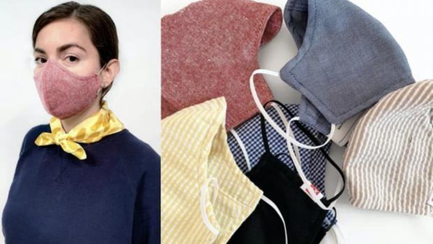 Watford Observer: The tightly woven fabric masks are a great option. Credit: HEDLEY AND BENNETT