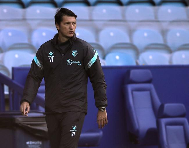 Vladimir Ivic is hoping to make the Watford fans proud this Saturday, Picture: Action Images