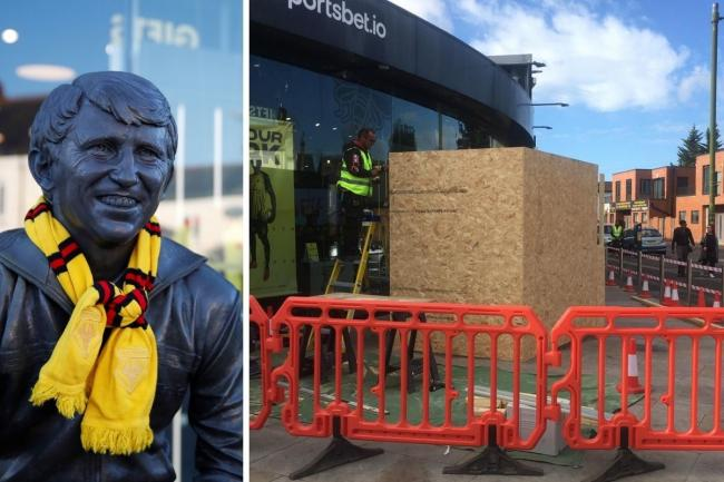 Is Watford boarding up its Graham Taylor statue ahead of the Luton derby an over-reaction?
