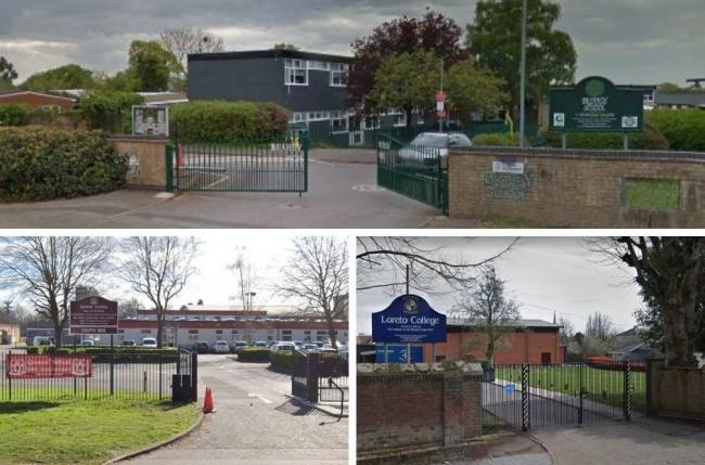 Some schools in our area have asked pupils or staff to self-isolate since reopening. Credit: Google Street View