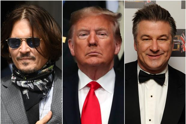 Meryl Streep, Alec Baldwin and Johnny Depp – actors who have played Donald Trump