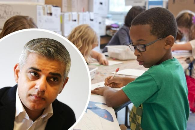 Sadiq Khan is reviewing the diversity of his teaching resources (Photo:
