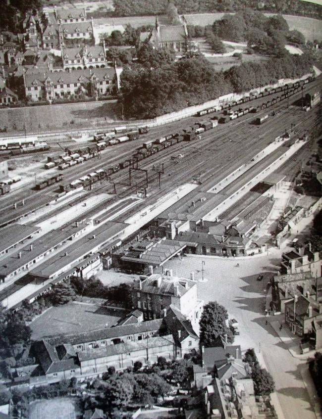 Watford Junction from bygone days.