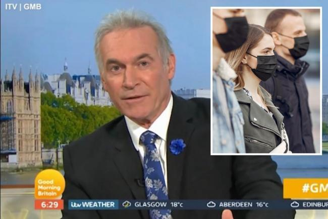Dr Hilary Jones has issued a face mask warning on ITV's GMB