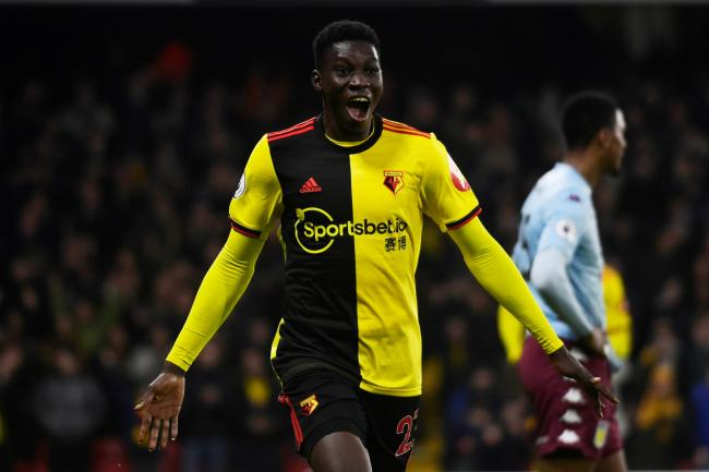 Watford are expected to keep hold of Ismaila Sarr today. Picture: Action Images