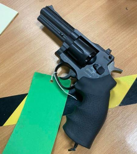 The firearm seized by police. Credit: Watford Police/Facebook
