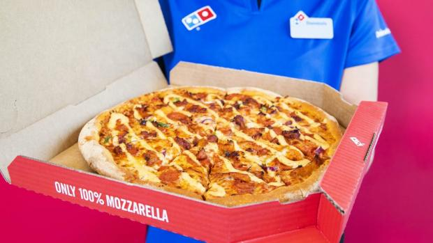 Watford Observer: Picture: Domino's Pizza/PA Wire