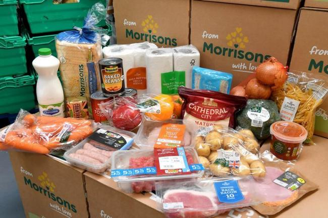 Morrisons has launched a wholesale bulk food box service for lockdown aid