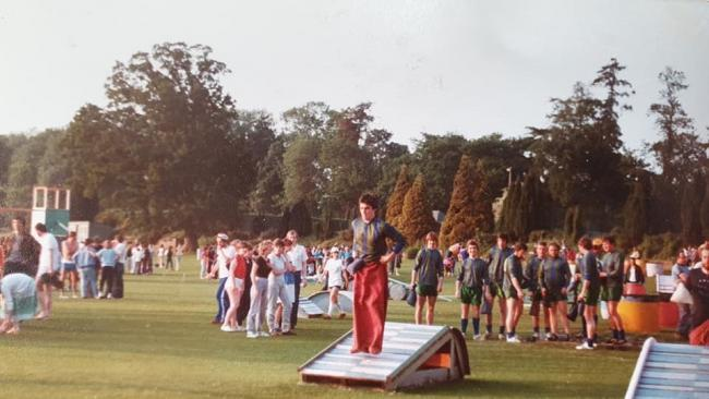 One of Lyn Smyth's pictures from It's a Knockout in Watford