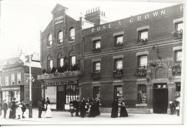 The Rose & Crown. Photos: Watford Museum