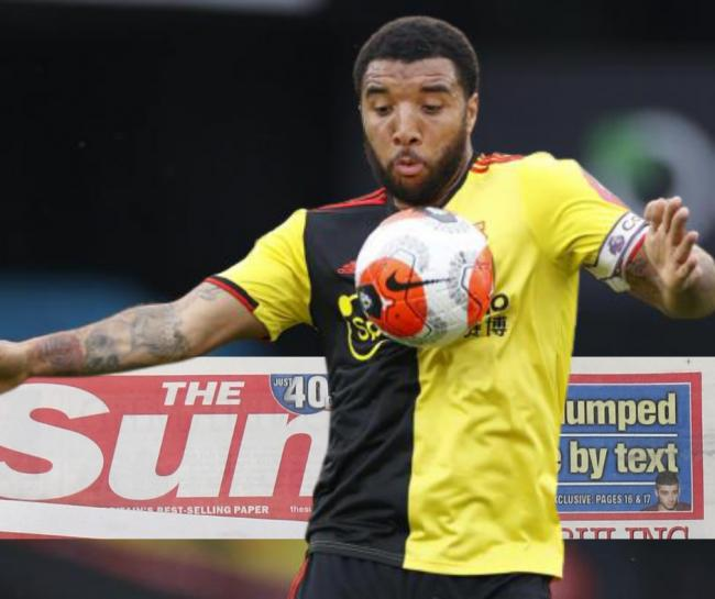 Troy Deeney has faced criticism for signing on as a columnist for The Sun (Photo: Action Images)