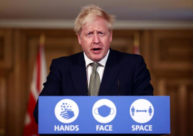 Prime Minister Boris Johnson will address the nation today. Credit: PA