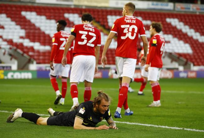 Ben Wilmot's mistake gave Barnsley the chance to take the lead. Picture: Action Images