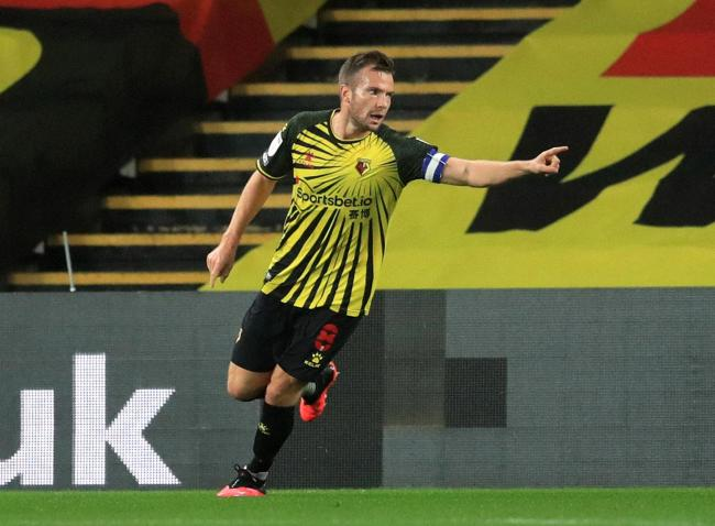 Tom Cleverley could return to the Watford squad either tomorrow or Saturday. Picture: PA