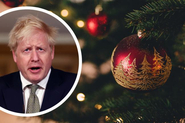 Will the UK's Covid restrictions will be eased over Christmas? Pictures: PA Wire/Canva/Newsquest