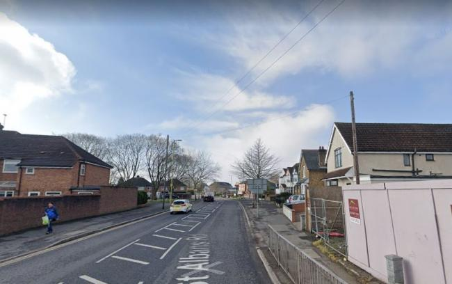 A section of St Albans Road will close (photo Google Street view)