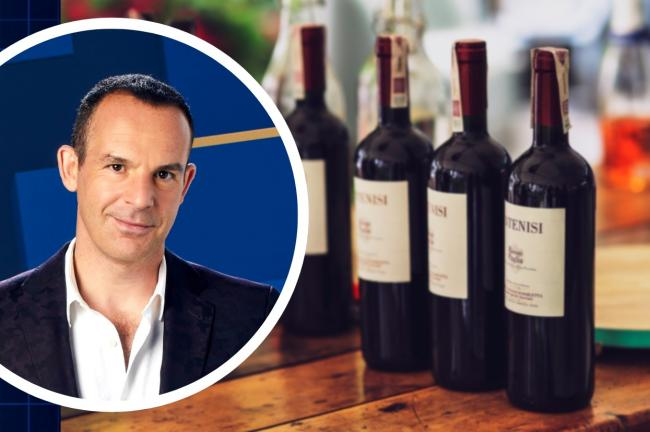 Martin Lewis' latest money advice could land you 15 bottles of wine for free. Picture: ITV/Canva