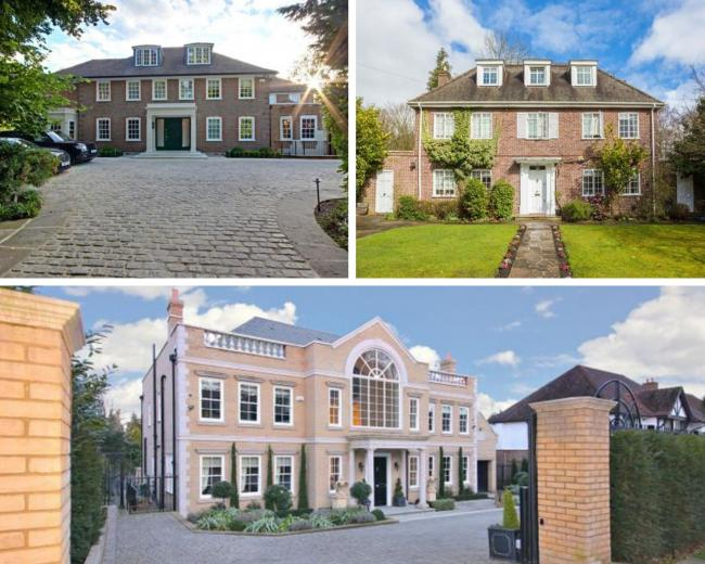 Inside Watford's million-pound mansions that won't sell (All images - Zoopla).