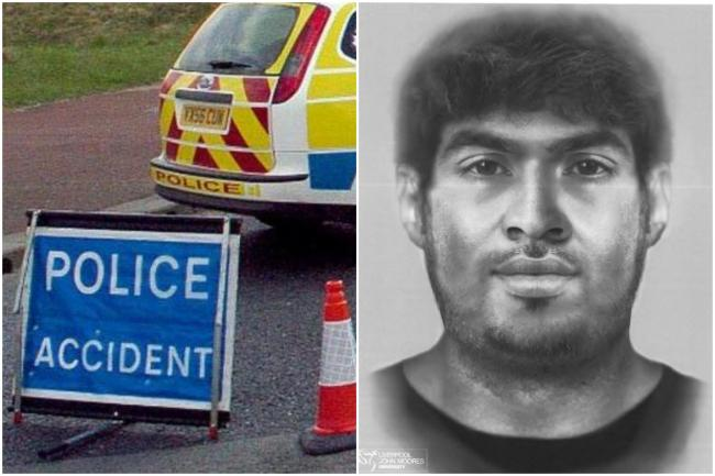 Police are trying to identify a man who died while crossing a motorway more than a year ago