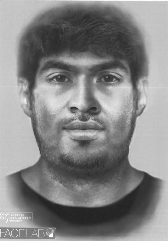 Watford Observer: An e-fit of a man who died when he was hit by several vehicles while trying to cross the M1 last year