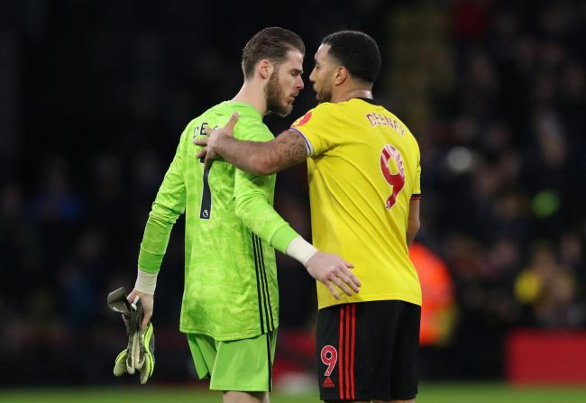 Watford beat Manchester United at home last season. Picture: Action Images