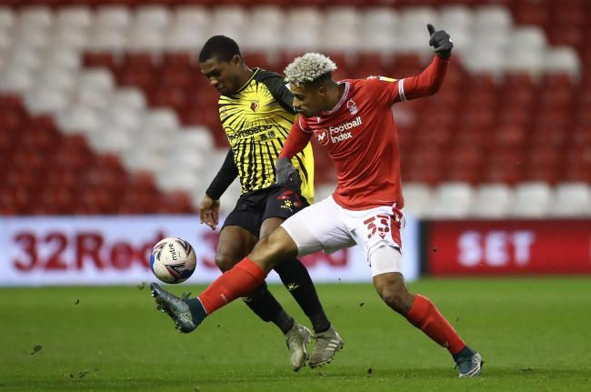 Watford and Forest played out a 0-0 draw. Picture: PA
