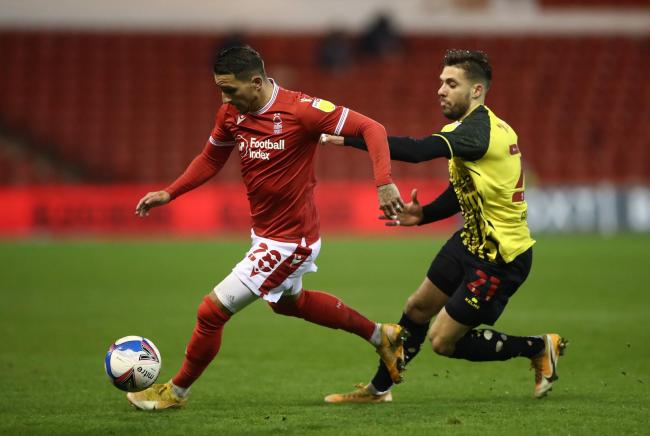 Watford were unable to find a breakthrough against Nottingham Forest