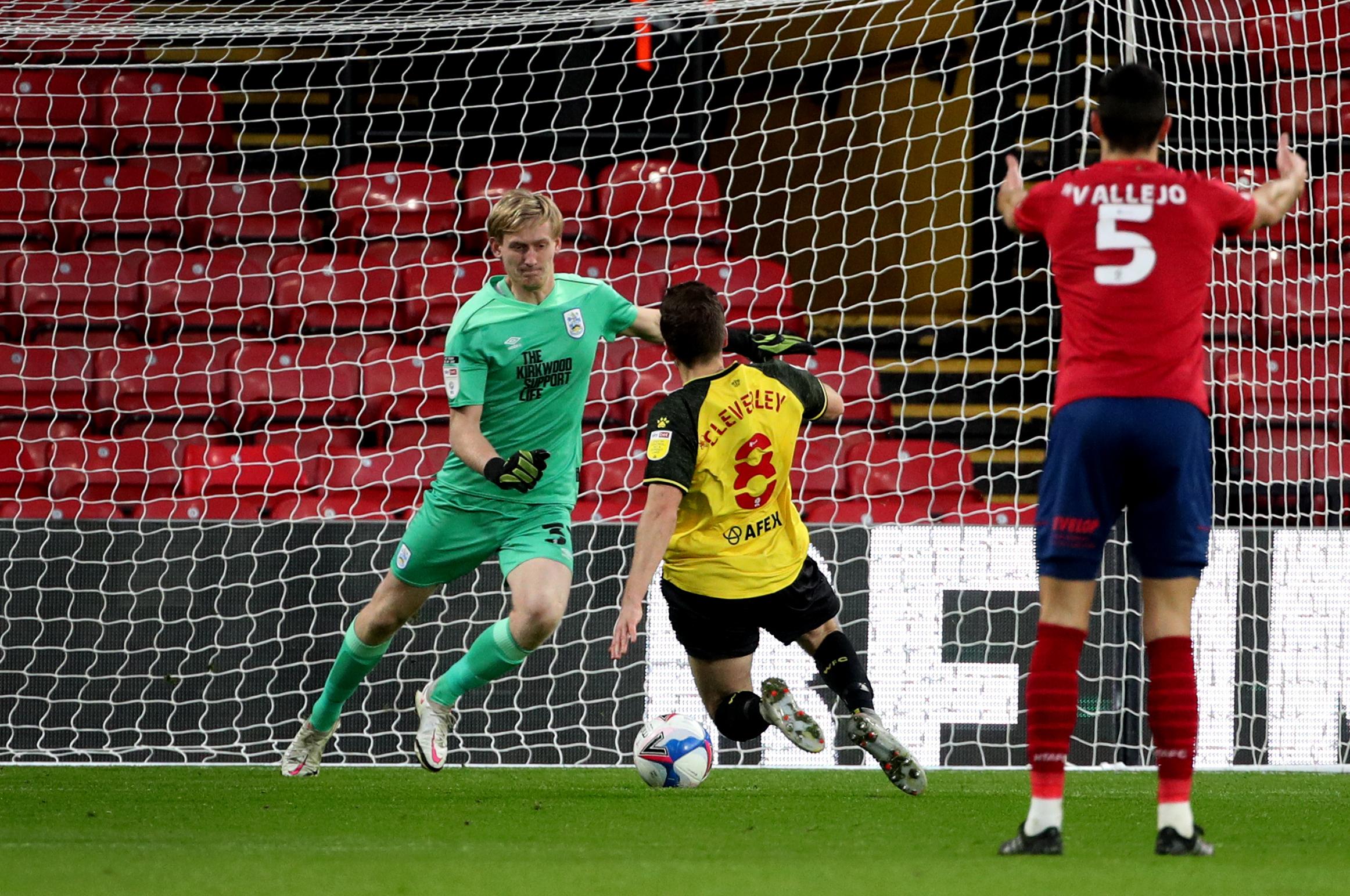 Watford beat Huddersfield Town at home