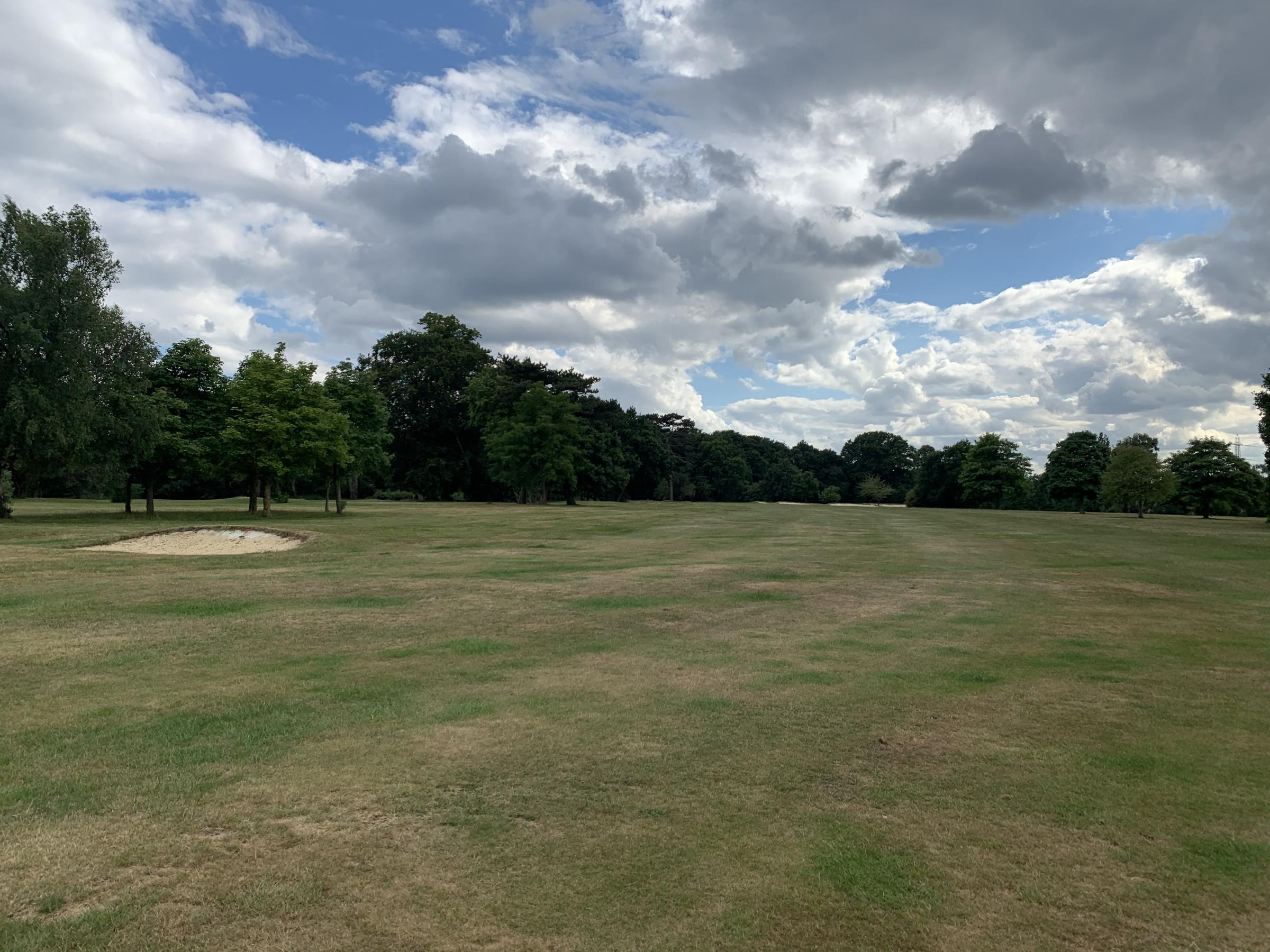 The golf course at Bushey Hall