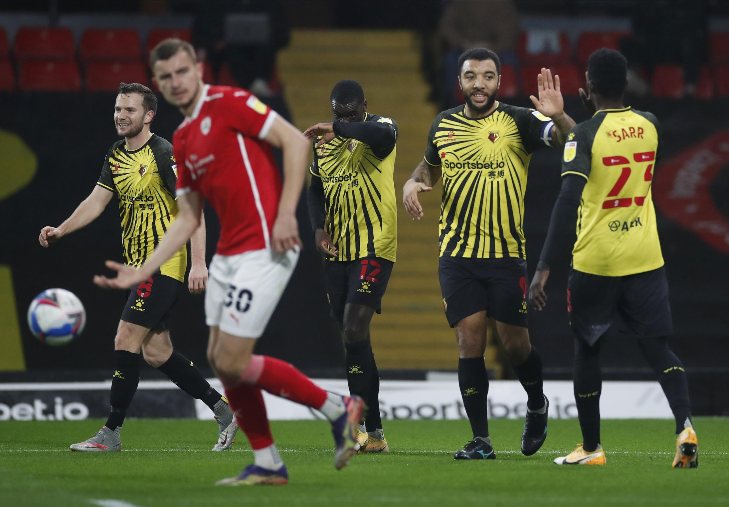 Watford players assessed after beating Barnsley