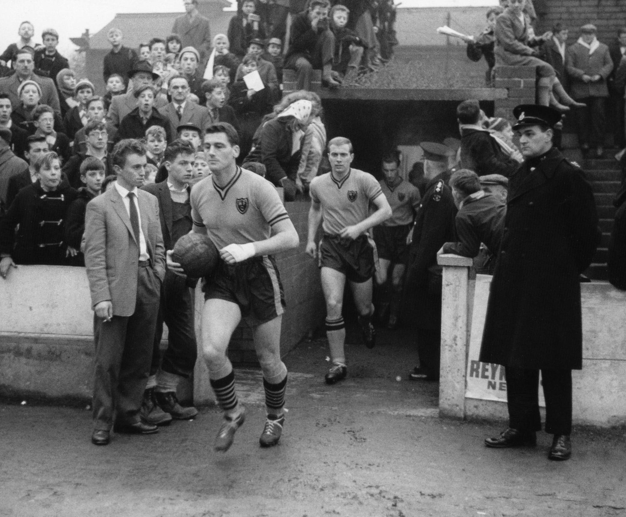 Memories of legendary Watford FC striker Cliff Holton