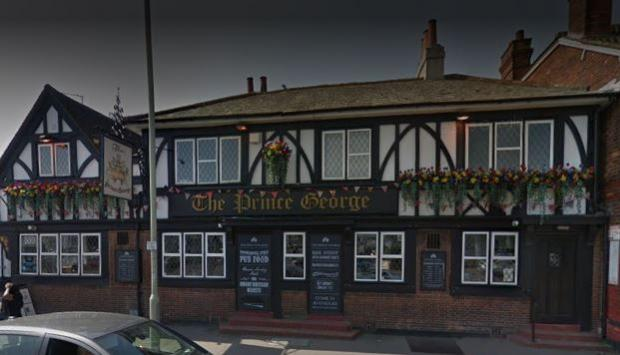 Watford Observer: The Prince George (google street view)